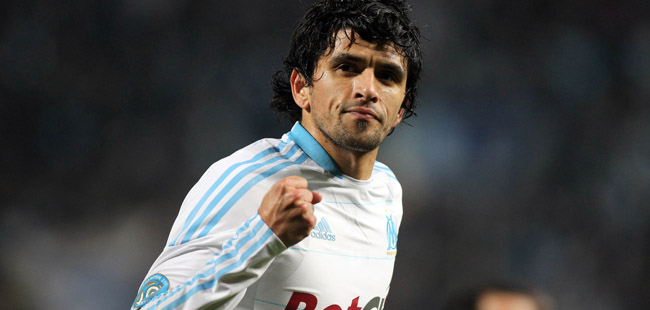 Lucho GONZALEZ  - 20.03.2011 - Marseille / PSG - Ligue 1