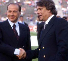 Silvio BERLUSCONI / Bernard TAPIE