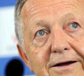 Jean Michel AULAS - président de l'OL