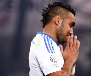 Deception Dimitri PAYET - 24.04.2015 - Marseille / Lorient - 34eme journee de Ligue 1 Photo : Gaston Petrelli / Icon Sport