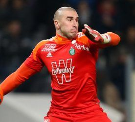 Stephane Ruffier - 07.02.2014 - Toulouse / Saint Etienne - Ligue 1