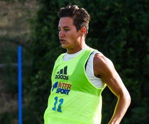 Florian Thauvin - 13.07.2015 - Entrainement Marseille -La Commanderie- Ligue 1 Photo : Alexandre Dimou / Icon Sport