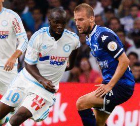 Lassana DIARRA - 23.08.2015 - Marseille / Troyes - 3eme journee de Ligue 1 Photo : Gaston Petrelli / Icon Sport