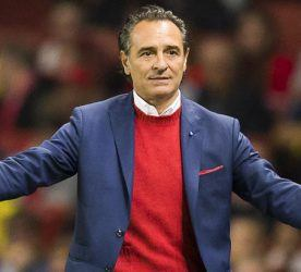 Cesare Prandelli - 01.10.2014 - Arsenal / Galatasaray - Champions League Photo : Ben Queenborough / BPI / Icon Sport *** Local Caption ***