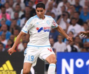 Abdelaziz Barrada - 08.08.2015 - Marseille / Caen - 1er journee de Ligue 1 Photo : Gaston Petrelli / Icon Sport