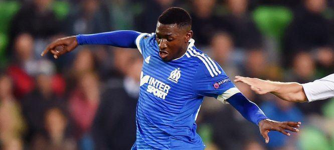 Andre Zambo Anguissa / Bryan Linssen  - 17.09.2015 - Groningue / Marseille - Europa League Photo :  OrangePictures / Icon Sport *** Local Caption ***