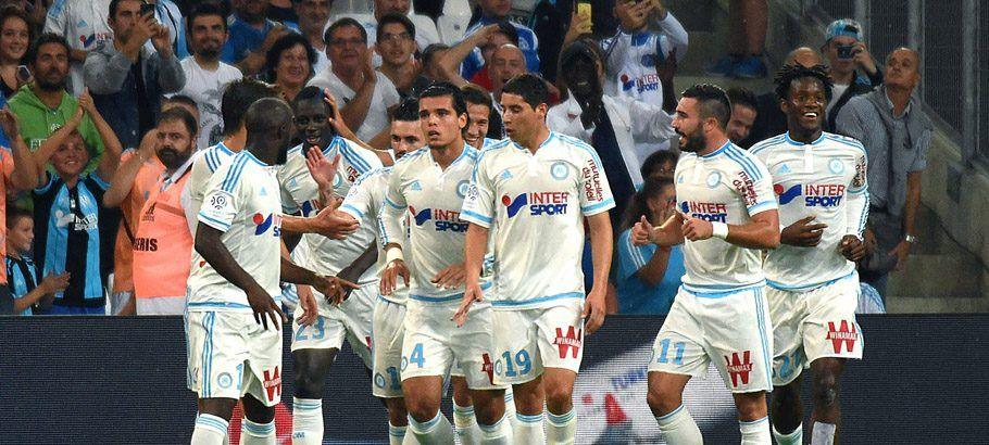 Joie Marseille - 13.09.2015 - Marseille / Bastia - 5e journee Ligue 1 Photo : Alexandre Dimou / Icon Sport