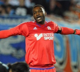 Steve Mandanda / Karim Rekik - 01.11.2015 - Nantes / Marseille - 12eme journee de Ligue 1 Photo : Andre Ferreira / Icon Sport