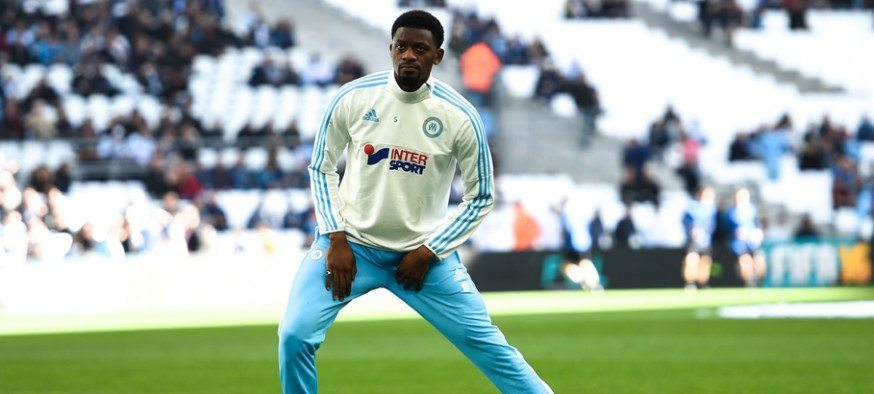 Abou Diaby - 21.02.2016 - Marseille / Saint Etienne - 27e journee de Ligue 1