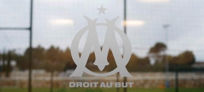 Illustration Logo / terrain - 08.10.09 - Inauguration des infrastructures sportives du centre d'entrainement Robert Louis Dreyfus - Marseille Photo : Reportages press / Icon sport