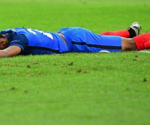 Kingsley Coman of France looks dejected during the UEFA EURO 2016 Group A match between France and Albania at Stade Velodrome on June 15, 2016 in Marseille, France. (Photo by Dave Winter/Icon Sport)