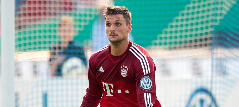 Sven Ulreich - 09.08.2015 - Nottingen / Bayern Munich - Coupe d'Allemagne Photo : Firo / Icon Sport