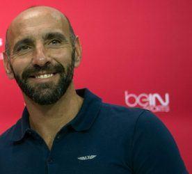 Presentation of Samir Nasri as Sevilla new player. In this picture, with Ramon Monchi. 01/09/2016 Photo : Kiko Hurtado / Marca / Icon Sport