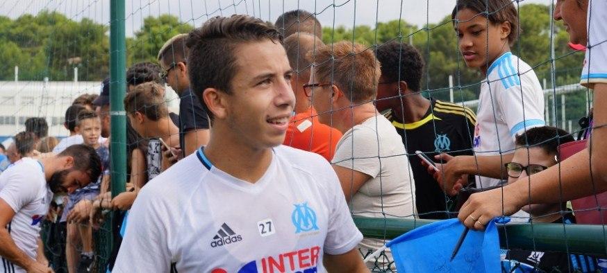 Maxime Lopez - Olympique de Marseille - OM - images Footballclubdemarseille.fr