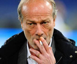 Walter Sabatini during the Serie A match between Roma and Inter on 19th March, 2016 Photo : Ramaccia / IPP / Icon Sport