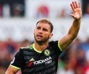 Branislav Ivanovic of Chelsea during the Premier League match between Swansea City and Chelsea played at the Liberty Stadium, Swansea on 11th September 2016 Photo : Kieran McManus / BPI / Icon Sport