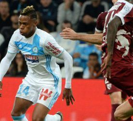 Clinton NJIE - Olympique de Marseille vs FC Metz - Stade Velodrome