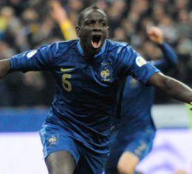 Joie Mamadou SAKHO - 19.11.2013 - France / Ukraine - Barrage Coupe du Monde 2014 -  Photo : Amandine Noel / Icon Sport