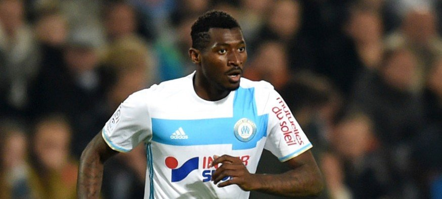 Andre Zambo Anguissa of Marseille during the ligue 1 match between Montpellier Herault and Olympique de Marseille at Stade de la Mosson on November 4, 2016 in Montpellier, France. (Photo by Alexandre Dimou/Icon Sport)