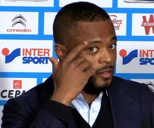 Patrice Evra of France during the European Championship Final between Portugal and France at Stade de France on July 10, 2016 in Paris, France. (Photo by Nolwenn Le Gouic/Icon Sport)