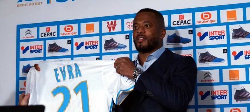 Patrice Evra - Olympique de Marseille photo FCM