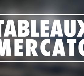 Tableaux Récap Mercato OM - Olympique de Marseille