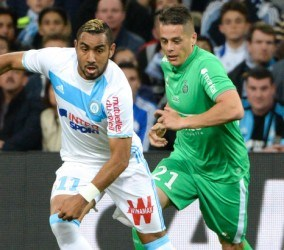 Dimitri Payet - Olympique de Marseille vs As Saint Etienne - Stade Velodrome
