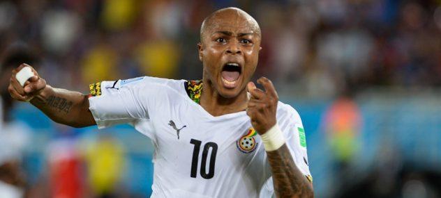 André Ayew en équipe nationale du Ghana