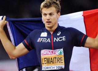 Christophe Lemaitre, recordman sur 100 et 200 m en France