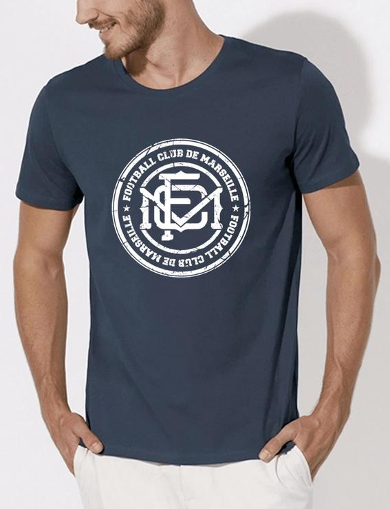 t-shirt-fcm-blason-blanc