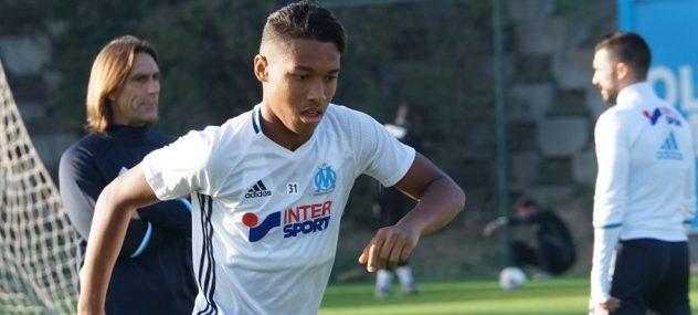 Maillot Domicile Olympique de Marseille Boubacar KAMARA