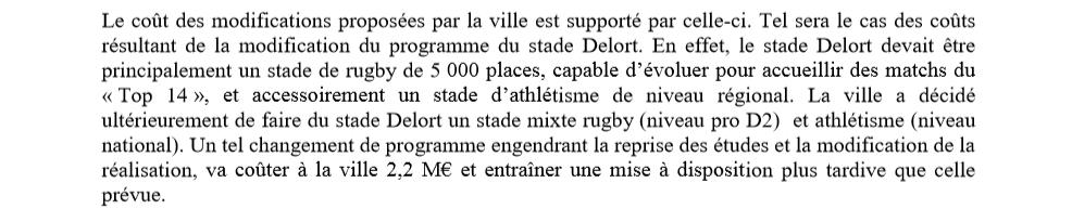 Source : Rapport Chambre Régionale des Comptes