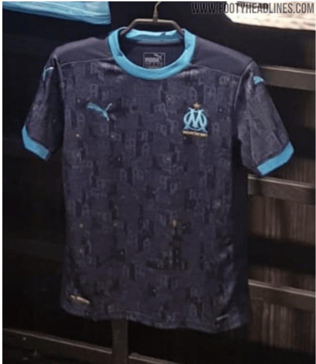 OM : Voici les images du nouveau maillot extérieur