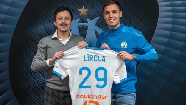 Pol Lirola avec Pablo Logoria OM