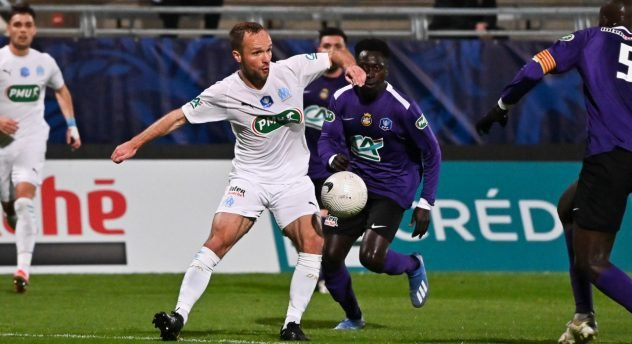 Valere GERMAIN OM Canet coupe de France