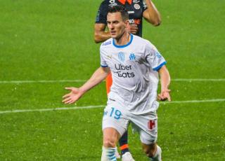 Milik match Montpellier - OM 2021